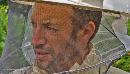 Olivier Duprez, formateur rucher école Villa le Bosquet