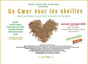 conférence d'apiculture en Calvados 2015
