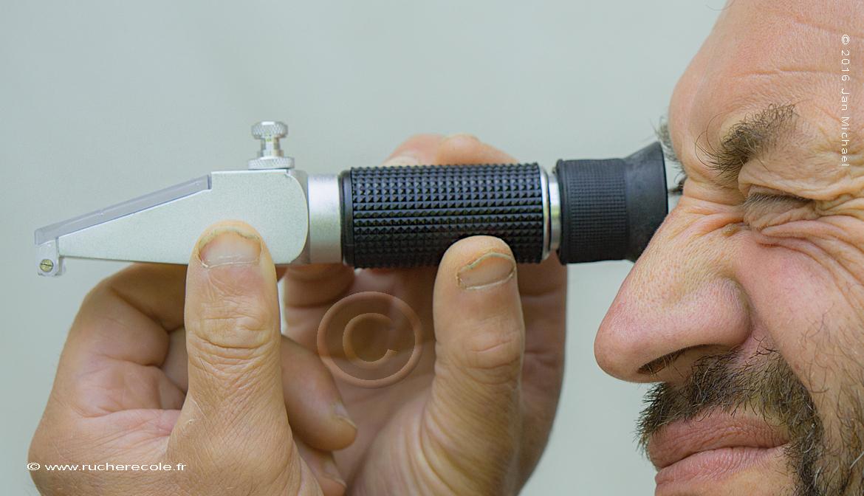 réfractomètre pour l'apiculture