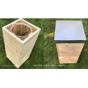 """Stage : Atelier de fabrication d'une ruche écologique """"La Tour d'Abeilles"""" (Warré compatible)"""