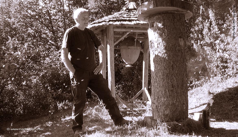 Norbert Poeplau,apiculteur biodynamique