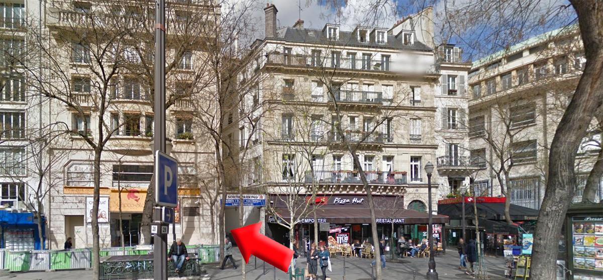 rucher école Villa le Bosquet à Paris