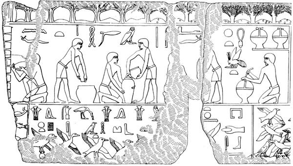 Egyptiane apiculture