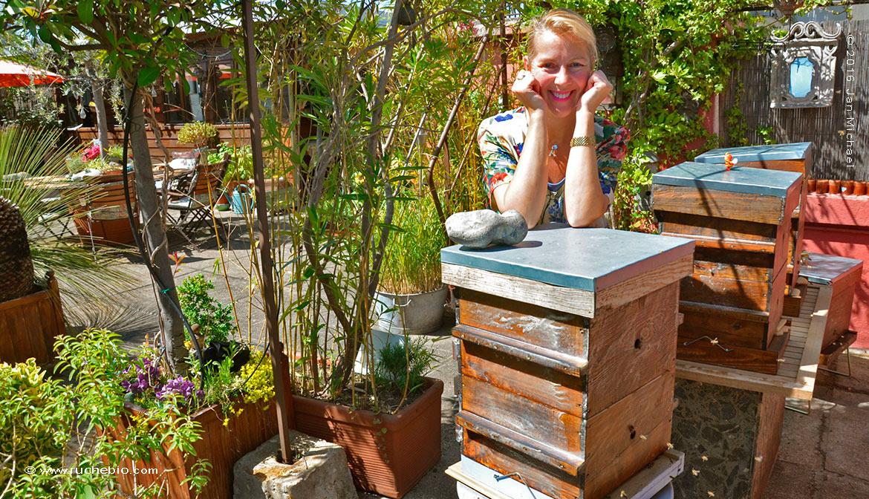 Diane Jos, apicultrice Warré
