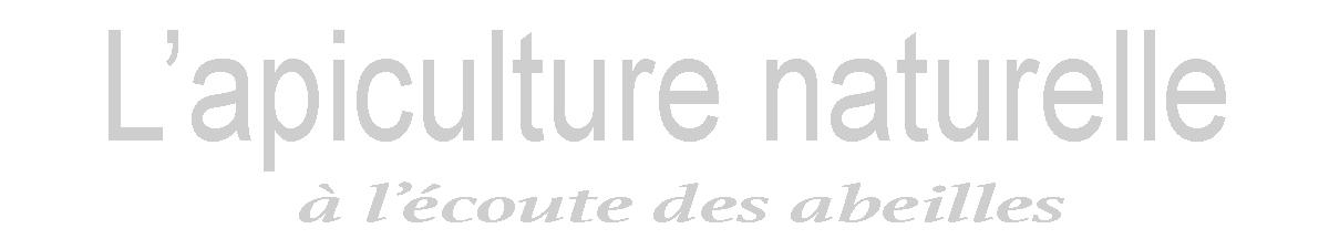 logo l'apiculture naturelle
