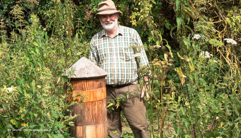 Bruno Frémont , apiculteur naturel