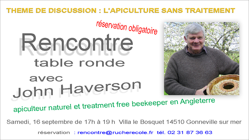 rencontre avec John Haverson