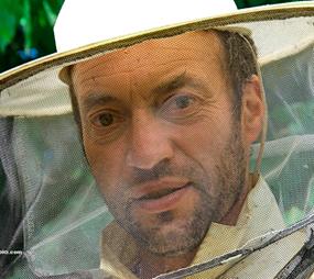 Olivier Duprez, apiculteur