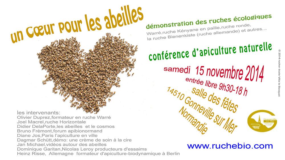 conférence d'apiculture naturelle