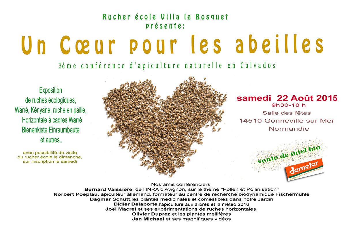 conférence 2015 rucher école Villa le Bosquet