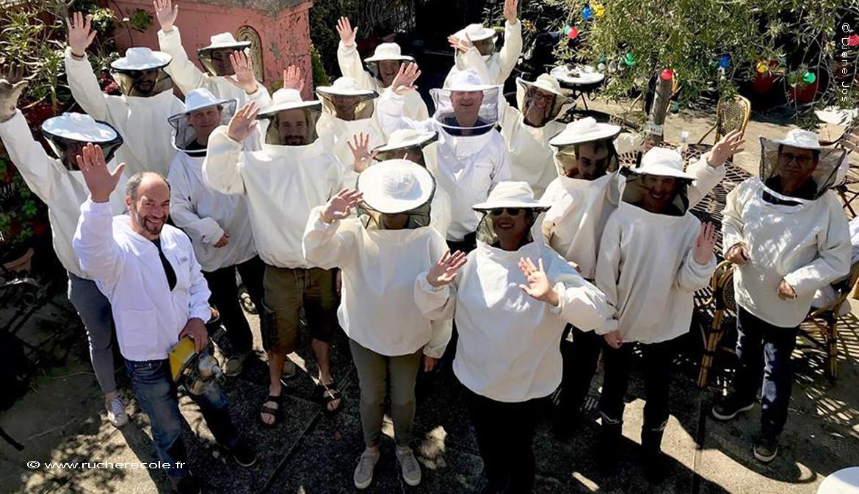 notre stage en apiculture naturelle