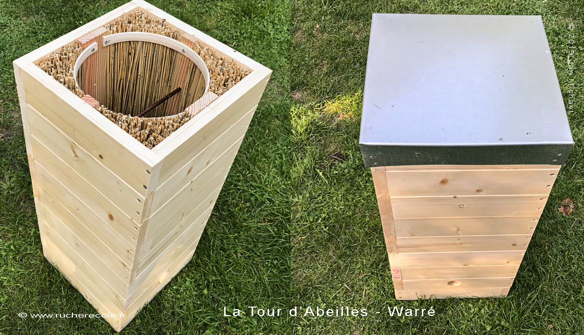 "Atelier de fabrication d'une ruche alternative ""La Tour d'Abeilles-Warré"")"