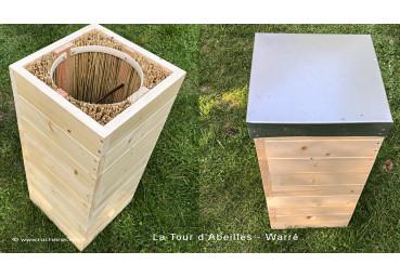 stage fabrication d'une ruche éco....